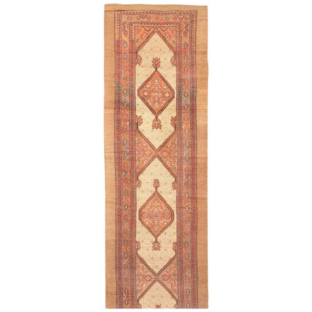 Exceptional 19th Century North West Persia Runner For Sale