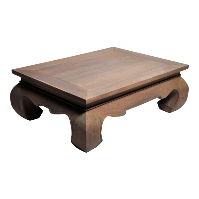 Contemporary Thai Lanna Coffee Table For Sale