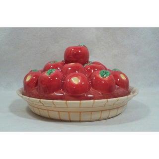 Ceramic Apple Pie Plate Preview
