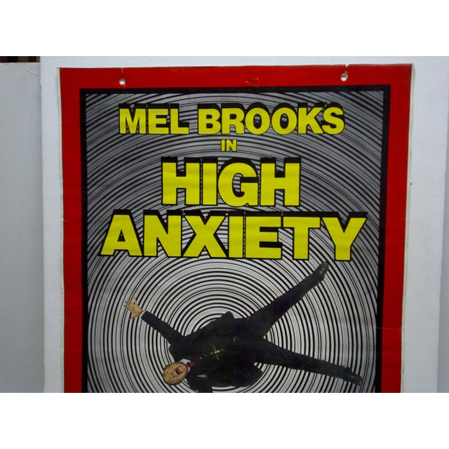 """Americana Mel Brooks in """"High Anxiety"""" Movie Poster For Sale - Image 3 of 5"""