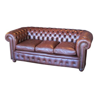 English Chesterfield Sofa For Sale