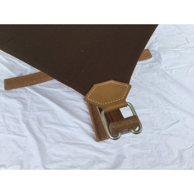 1960's Stanform Modernist Leather Ottoman - Image 8 of 9