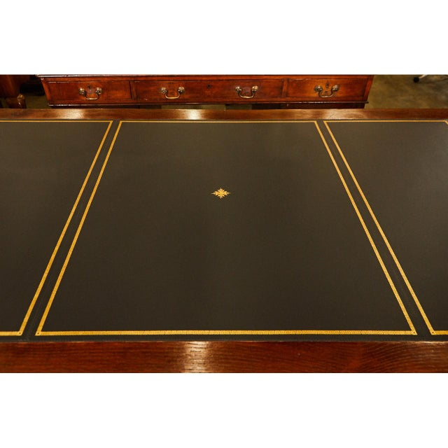 Large English Writing Table circa 1870's - Image 5 of 9
