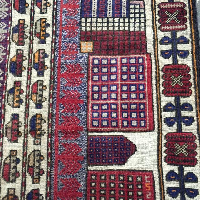Sumack Handmade Persian Rug - 2′10″ × 4′7″ - Image 5 of 11