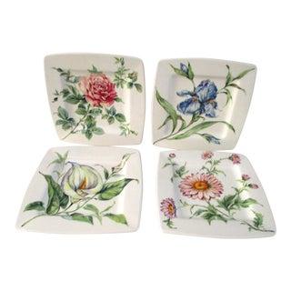Vintage Italian Florens Plates - Set of 4