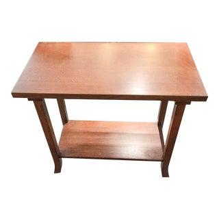 Mission Oak Side Table For Sale