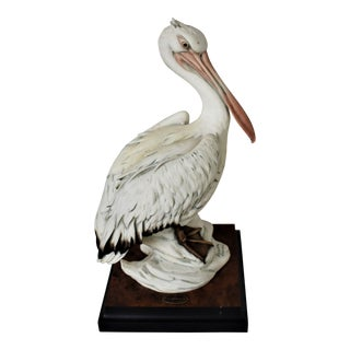 Vintage Pelican Figure by Giuseppe Armani For Sale