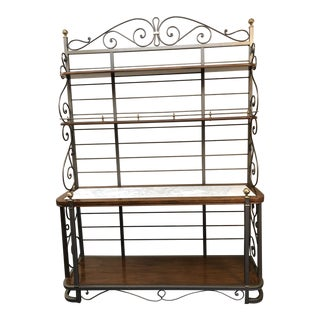 Drexel Heritage Bakers Rack, Made in Italy For Sale