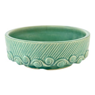 1940s McCoy Aqua Wave Bowl