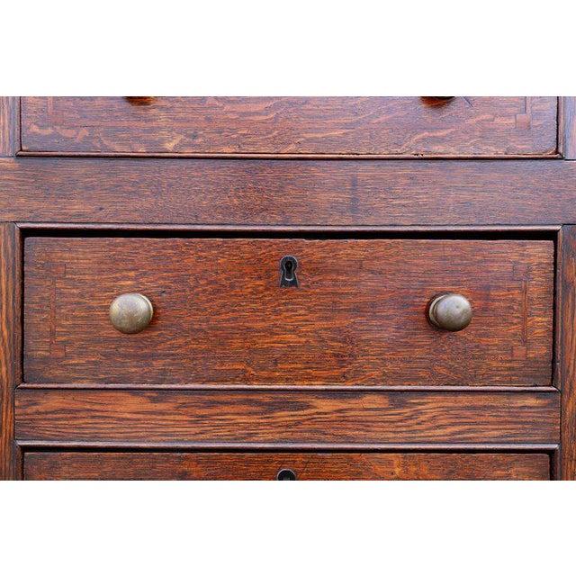 George III Oak Welsh Dresser For Sale - Image 4 of 11