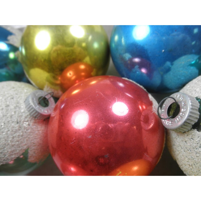 Shiny Brite Snowcap Ornaments - Set of 12 - Image 3 of 3