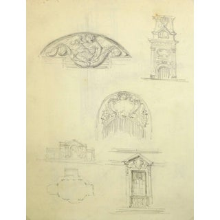 Architectural Sketches For Sale