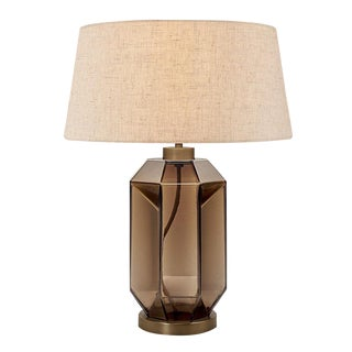 Laguna Hexa Table Lamp in Mocca Colour For Sale