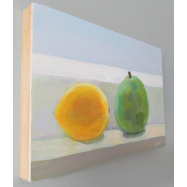 French Country Lemon and Pear by Anne Carrozza Remick For Sale - Image 3 of 6