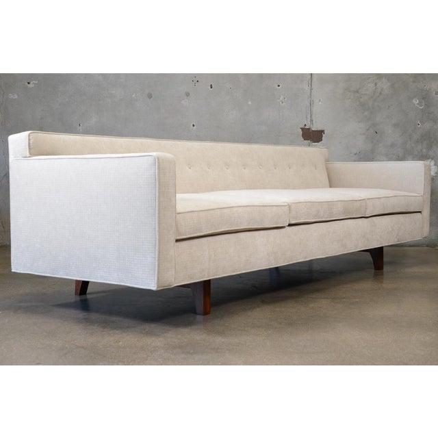 Roger Sprunger for Dunbar Bracket Back Sofa - Image 3 of 9