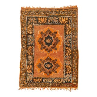 Vintage Moroccan Rug - 1′2″ × 3′4″ For Sale