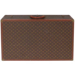 1950s Louis Vuitton Hard-Case Suitcase For Sale