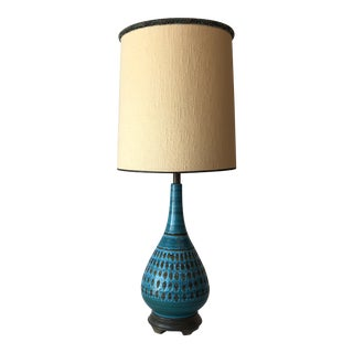 1960's Italian Ceramic Glaze Bitosi Lamp For Sale