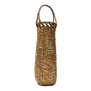 Waichisai III Signed Japanese Flower Basket For Sale