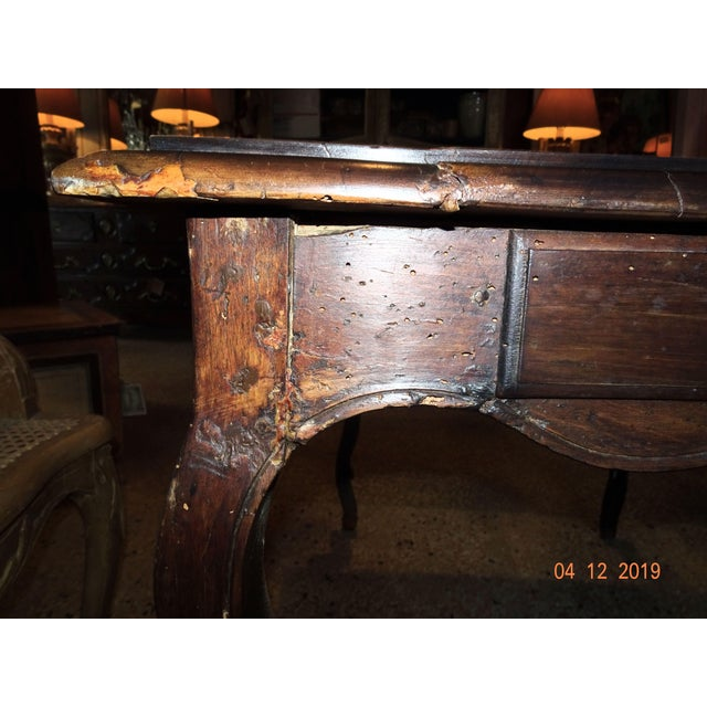 Walnut Louis XV Side Table For Sale - Image 7 of 13