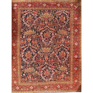 "Pasargad Original Persian Sultanabad Mostofi Design Wool Rug - 10'8"" X 13'9"" For Sale"