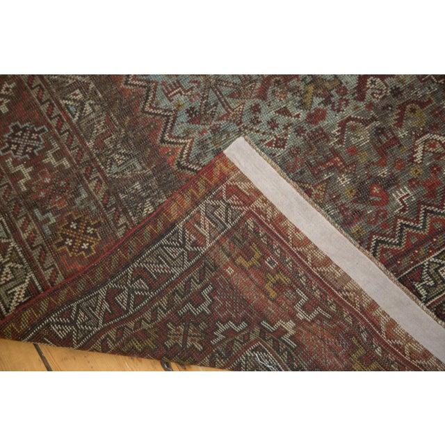 "Vintage Shiraz Carpet - 6'10"" X 9'9"" For Sale - Image 10 of 10"
