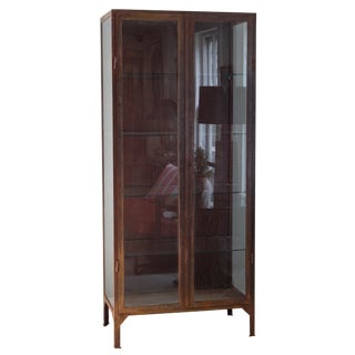 Industrial Vitrine For Sale