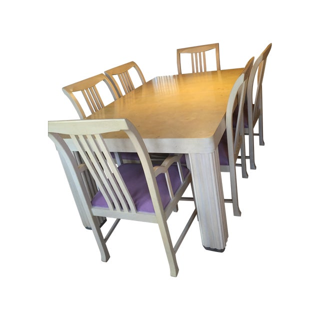 Hickory Furniture Maple Dining Set - Image 1 of 5