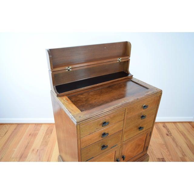 Antique Art Deco Medical Dental Cabinet - Image 7 of 10