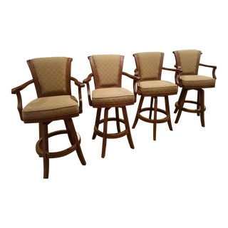 Darafeev Swivel Bar Stools - Set of 4