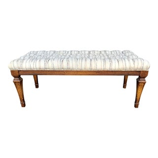 1970s Vintage Bench Seat For Sale