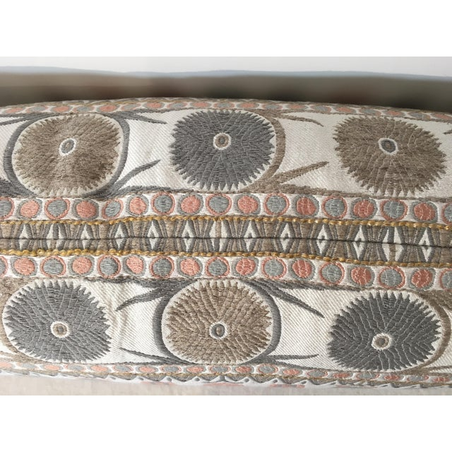 Suzani Motif Designer Pillow Cover - Image 4 of 4