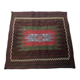 Vintage Turkish Flat-Weave Kilim Rug For Sale