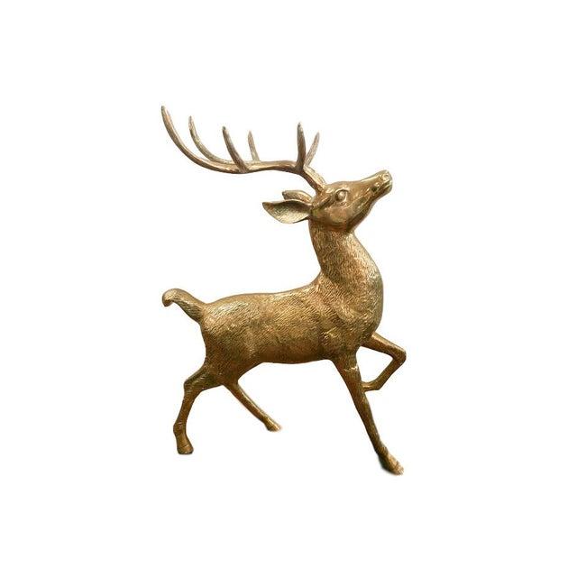 Vintage Brass Elk For Sale