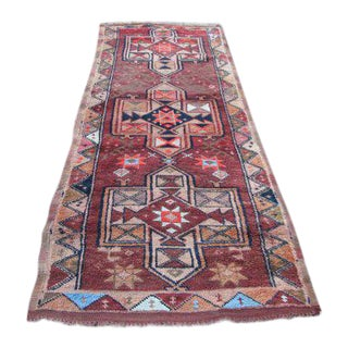 Vintage Turkish Oushak Rug - 4″ × 9″
