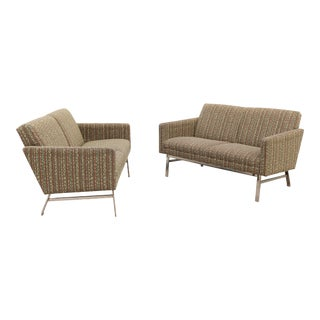 Mid-Century Modern Jack Cartwright Kelly Settee Lounges - a Pair For Sale
