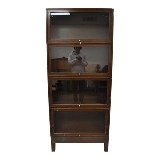 Globe Wernicke Stacking Barrister Lawyer Bookcase