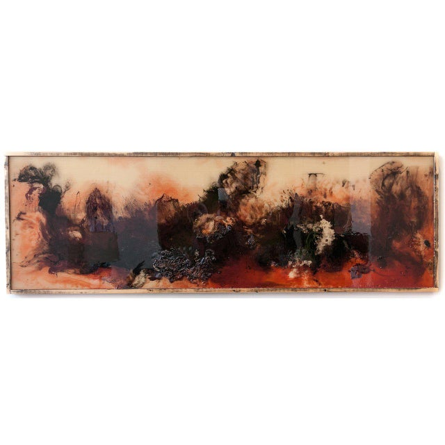 "Abstract ""Pompeii"" by Liam Dean For Sale - Image 3 of 3"