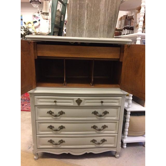 Vintage French Grey Dresser - Image 3 of 6