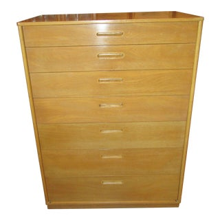 Dunbar Mid Century Modern 7 Drawer Chest For Sale