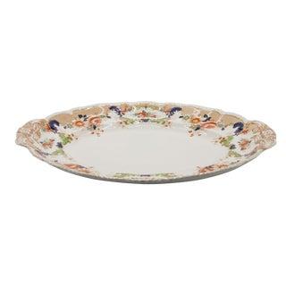 John Maddock & Sons English Porcelain Serving Platter For Sale