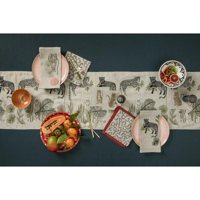 Cheetah Guardian Tea Towel For Sale - Image 4 of 5