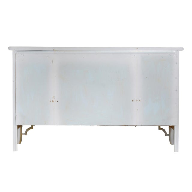 White Faux-Bamboo Dresser - Image 2 of 4