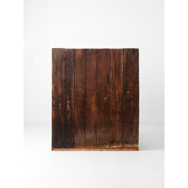 Antique American Primitive Wooden Jelly Cupboard - Image 6 of 9 - Antique American Primitive Wooden Jelly Cupboard Chairish