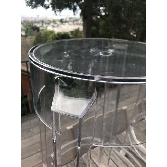 Kartell & Starck Charles Ghost Counter Stools - A Pair - Image 7 of 11