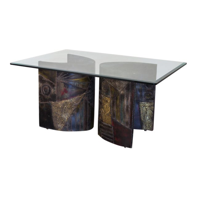 Paul Evans Pe-24 Pedestal Table for Directional For Sale