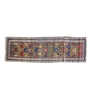 Early 20th Century Antique Bakhshaish Rug - 3′8″ × 16′5″ For Sale