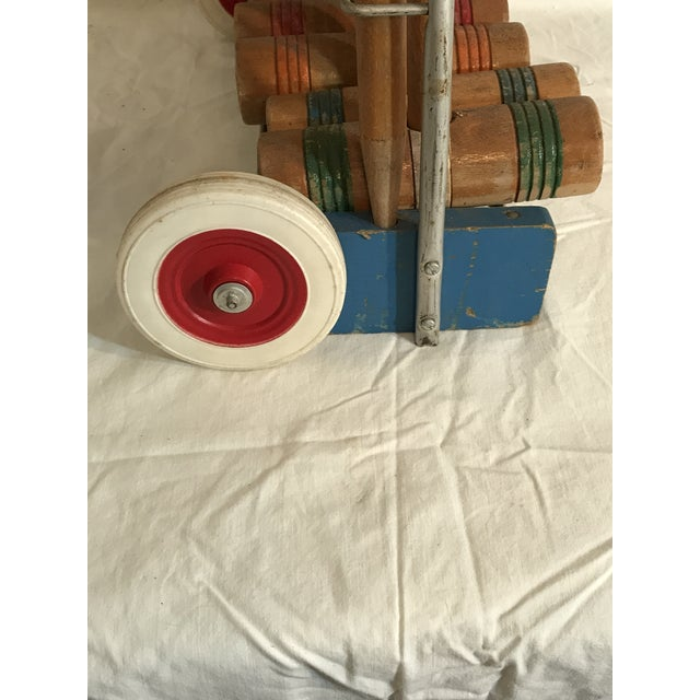 1950's Croquet Game Set For Sale - Image 4 of 11