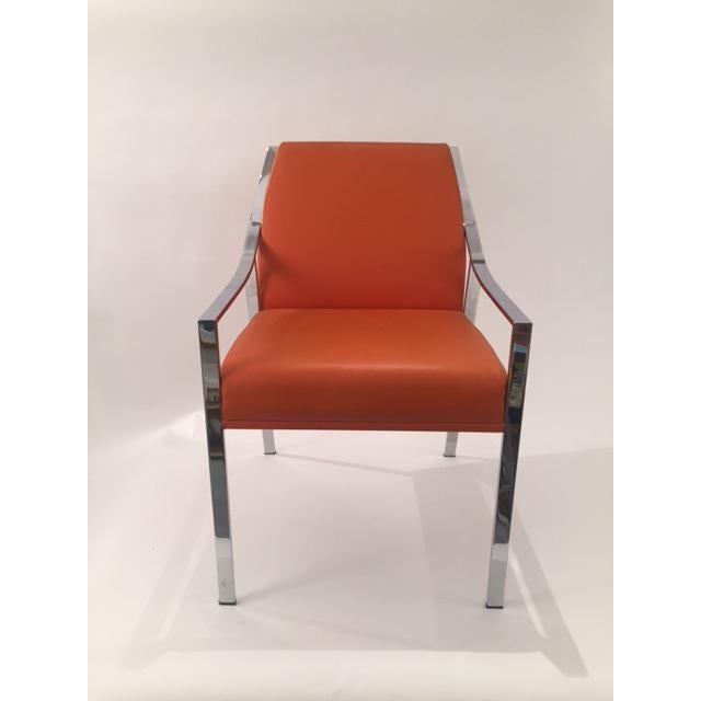 Holly Hunt Aileron Dining Arm Chair - Image 2 of 9