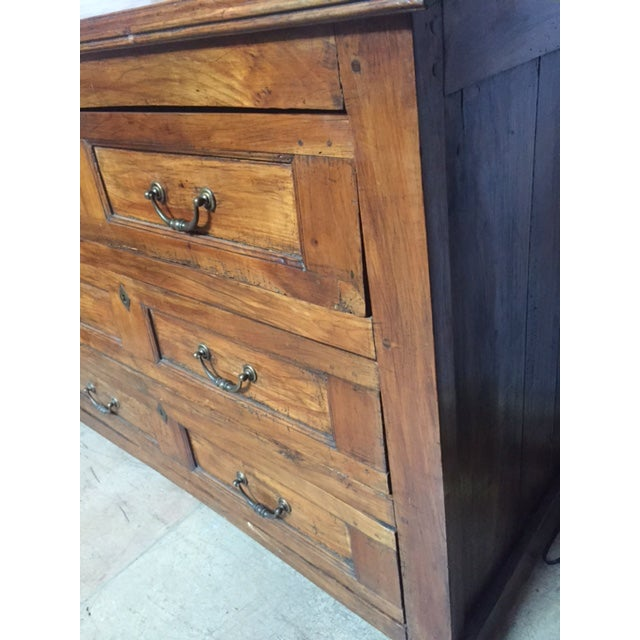 Brown 19th C Italian Slant Front Desk/Commode....walnut For Sale - Image 8 of 9